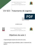 Aula 1 - Generalidades e Apresentacao Do Curso