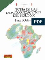 3- Henri Grimal - Historia de Las Descolonizaciones