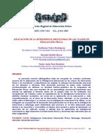 Dialnet-AplicacionDeLaInteligenciaEmocionalEnLasClasesDeEd-6121665