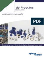 Catálogo de Produtos Spirax Sarco