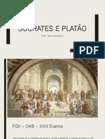 02 Sócrates e Platão