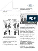 Atividade lingua portuguesa 7 ano 4 semana