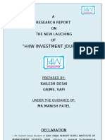 h4w Magzine Questionnaire Analysis Kailesh