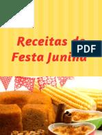 Receitas de festa junina Funcionais