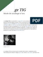 Soudage TIG — Wikipédia