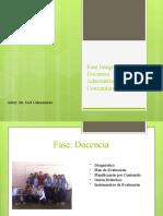 Fase Integración Docencia Administración Comunitario(Ponencia)