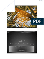 Why Computer Aided Drug Designing CADD