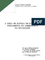 A ideia de justiça em Kant seu fundamento na liberdade e na igualdade by Joaquim Carlos Salgado (z-lib.org) (1)