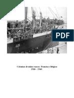Colonias de Niños Vascos 1936 – 1940 Francia y Belgica