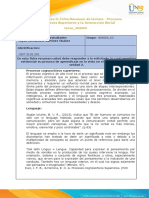 Anexo 1 - Tarea 3 Ficha Resumen Lecturas Unidad 2_ Miyeli Martinez Procesos Cognocitivos