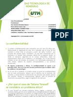 UNIVERSIDAD TECNOLOGICA DE HONDURAS. TRABAJO GRUPAL 3 PARCIAL