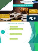 Thème N° 10 - Les procédures de prévention (1)