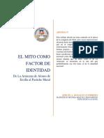 Mito Como Factor de Identidad. Sergio Rosales G.