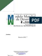Modelo Mundial Desarrollo sostenible- 4º Sector Economico - Directiva ONU 2010v1