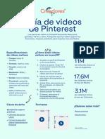 Guía de videos de Pinterest