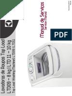 Electrolux LTD09_LDT11 - Manual De Serviços