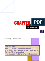Classification of materials-study guide