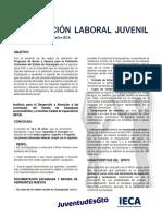 Convocatoria Capacitación Laboral Juvenil Guanajuato junio 2021