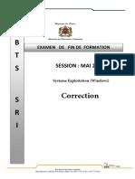 Examen-Principal-SEP-Correction 2018
