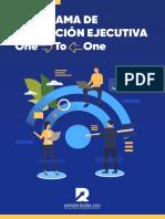Programa de Formación Ejecutiva One-To-One