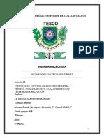 A2,U3,Morales Rosado Christopher Alexandro, 6°BE, INSTALACIONES ELÉCTRICAS INDUSTRIALES,07-06-2021