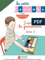 Les Petits Montessori - J 39 Apprends La Grammaire - Tome 2