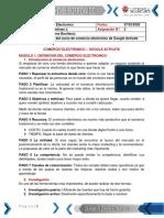 Asignacion 2 - Resumen Comercio Electronico - Google Activate