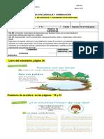 GUIA LENGUAJE N°36 TRABAJO DE LIBRO Y CUADERNILLO