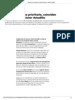 24/09/2019 Seguridad, tarea prioritaria, coinciden Sheinbaum y Héctor Astudillo