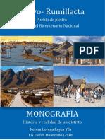 MONOGRAFIA SOBRE SIBAYO