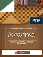 VOCABULARIO ASHANINKA DIGITAL (Aprobado ultima versión marzo 2021)