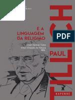 Paul Tillich e a Linguagem Da Religiao