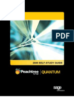 Peachtree by Sage Quantum Basic Self-Study Guide
