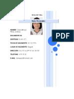 CV Docente Artes Plasticas (Foto