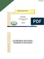 Marketing_la fidélisation_stratégies et techniquesSTUDENT