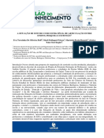 A SITUAÇÃO DE ESTUDO COMO ESTRATÉGIA DE ARTICULAÇÃO ENTRE ENSINO PESQUISA E EXTENSÃO