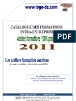 Catalogue formations_intra 2011