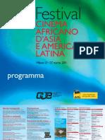 Programma Festival 2011