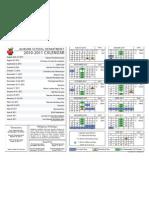 Auburn School Calendar 2010-2011