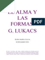 ensayoEL ALMA Y LAS FORMA1