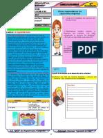 Cuadernillo de Autoaprendizaje  1° GRADO