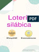 LOTERIA Silaba Final