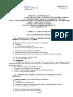 Tematica Cursuri Organizate În Institutiile de Învățământ Instruire Subordonate Direcției Medic