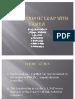 Integration of ldap with samba