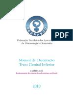 Manual PTGI Cap 12 Rastreamento Do Cancer Do Colo Uterino No Brasil