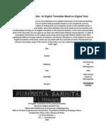 The Sushruta Samhita