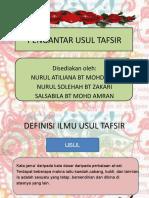 DEFINISI ILMU USUL TAFSIR (2)