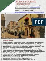 Cultura & Società in Capitanata N. 36 Del 18-06-2021