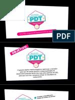 APRESENTAÇÃO PDT - PROGRAMA DE DESENVOLVIMENTO DE TREINADORES (1)