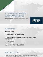 1 Histoire de La Pensée Économique (HPE) OK